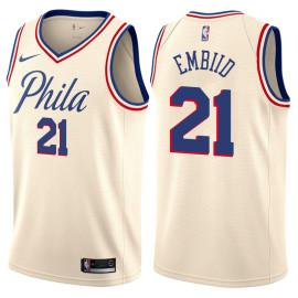 Camiseta Philadelphia 76ers Vintage Joel Embiid