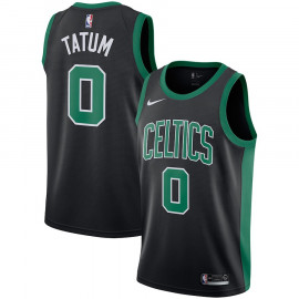 Camiseta Boston Celtics Tatum Negra 2018