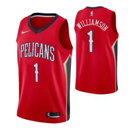 Camiseta Pelicans Zion Williamson Roja 2019/2020