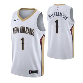Camiseta Pelicans Zion Williamson Blanca 2019/2020