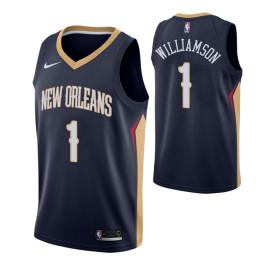 Camiseta Pelicans Zion Williamson Negra 2019/2020