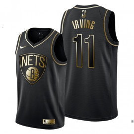Camiseta Brooklyn Nets Kyrie Irving Golden Edition 2019/2020