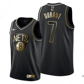 Camiseta Brooklyn Nets Kevin Durant Golden Edition 2019/2020