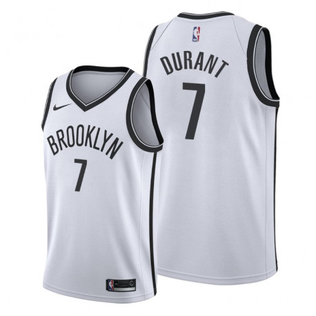 Camiseta Brooklyn Nets Kevin Durant Blanca 2019/2020