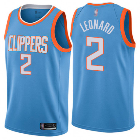Camiseta Clippers Kawhi Leonard City Edition 2019/2020