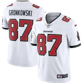 Camiseta Tampa Bay Buccaneers Rob Gronkowski Blanca