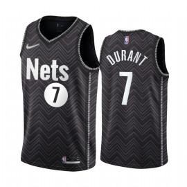 Camiseta NBA Brooklyn Nets Durant 7 Black Edition