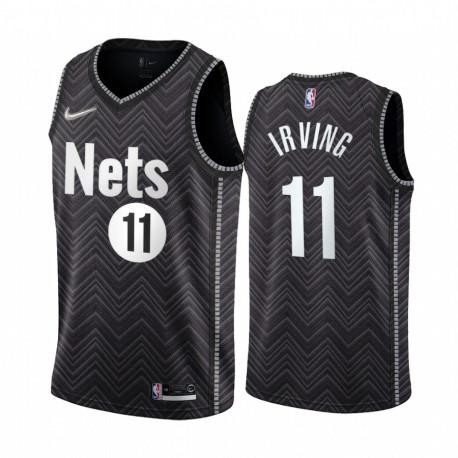 Camiseta NBA Brooklyn Nets Irving 11 Black Edition