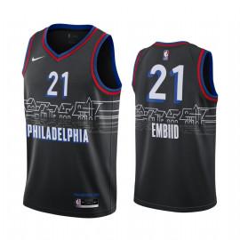 Camiseta NBA Philadelphia Embiid 21 City Edition 2021