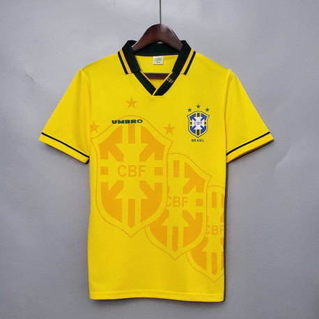 Camiseta Retro Brasil 1ª 1994