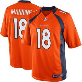 Denver Broncos Manning Naranja